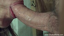 Closeup Blowjob From Amateur Italian MILF's Thumb