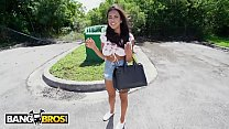 Bangbros - Barely Legal Hottie Autumn Falls Pounded On The Bang Bus By Tyler Steel