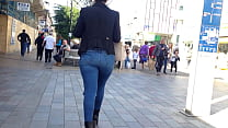 Candid - Latina BigButt In Tight Jeans (RM1) No:2
