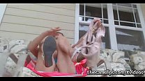 HOT Webcam Busty Babe Squirts Over And Over Outdoors! - 9Club.Top