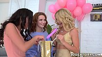 Lesbian birthday party