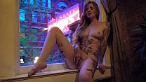 16098 Exhibitionist Fingering in My AirBnB Window preview