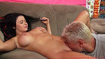 Busty Brunette  Loni Evans Rides A Hard Cock s A Hard Cock