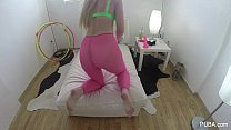 Samantha Rone Plays with herself