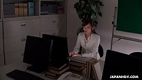 Japanese Office Lady Aihara Miho Is Masturbating At Work Uncensored