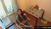 Real european beauty doggystyled on spycam