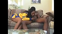 Fantastic busty negress takes dick inside tight wet pussy and asshole