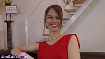 Stockings teen doggystyle preview image