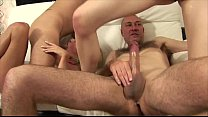 Two busty blde sluts fucked by two strangers - 9Club.Top