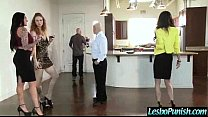 (jaclyn&jessica) Girl Get Sex Toys Hard Punishment From Mean Lesbo mov-15