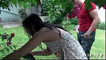 Asian french emo girl gets ass fucked outdoor video