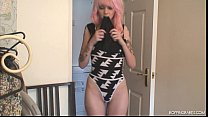 Goth Babe MINNI Dancing Naked preview image