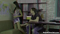Porn Films 3D - Friends explore each other Nata...