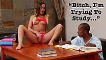 BANGBROS - Young Jaye Summers Craves Step Brother's Big Black Cock Thumbnail