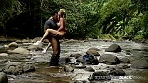 Private Black - Jamie Broks Ass Fucked In River By A BBC!