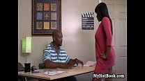 Lickable confronts her man at the office  but soon