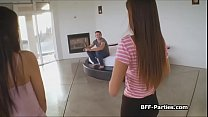 POV foursome with 3 gamer girls Preview