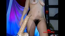 Hairy Babe V Giant Toy - Chattercams.net