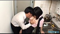 Busty Office Lady Giving Blowjob On Her Knees Cum To Mouth Spitting Semen To The