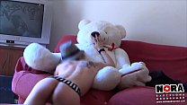 The horny Teddy  Bear Furry