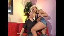 Cute cock sucking blond ho gets anal pounding and facial jizz