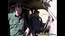 Frightened Mexican Teenie Punished Sex With Bordergaurd  - 10