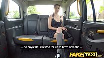 Fake Taxi Sweet 18yr teen Shi Official in her first taxi ride thumbnail