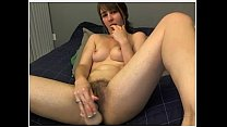 Hairy Girl Plays with Dildo Doggystyle Pulls Pussy Lips Hairy Legs and Ass Vorschaubild