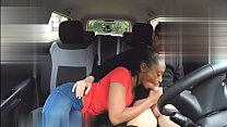 Fake Driving School pretty skinny black wife with nice natural breasts thumbnail