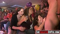 09 Hot milfs at cfnm party caught cheating video