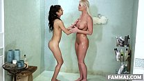 Stepmom visits the massage spa # Katya Rodriguez and London River