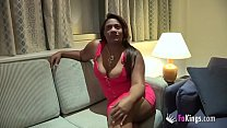 Ebony fatty Colombian wife gets doggystyle from...