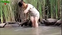 Asian Girl Hot Fishing - Nude thumbnail