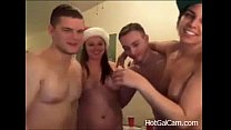 A Blowjob Christmas Sex Party - JustFuckHer.com(1)