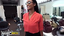 BANGBROS - Behind The Scenes With Ebony Pornstar Arianna Knight pornhub video