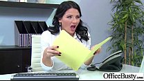 Hard Style Sex In Office With Big Round Tits Girl (casey cumz) mov-12