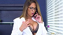 Brazzers - Layla London wants some office cock preview image