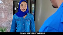 Screenshot Exxxtrasmall    Hot Muslim Chick Gets Double Cum