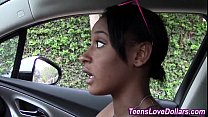 teen blowjob black