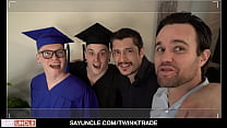 Hot Stepsons Marco Bianchi & Harvey Sid Celebrate Graduation With Cum Party