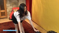 Tempting lapdance by 18yo czech teen video