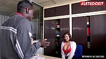 LETSDOEIT - Big Ass MILF Teacher Blows BBC And Gets Hard Fucked By College