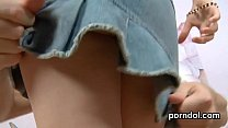 Perfect teen gets seduced and nailed by her guy thumbnail