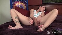 Tattooed Mindy Toys Her Cunny