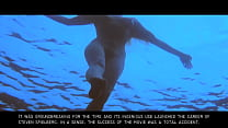 Jaws: Sexy Nude Blonde Skinny Dipping Girl