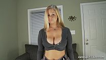 Anabelle Pync POV Upskirt while talking to you Preview