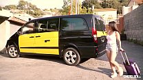 CHICAS LOCA - Tattooed Spanish babe enjoys sex outdoors with horny cab driver - 9Club.Top