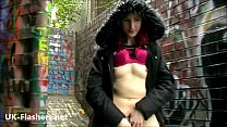 Redhead exhibitionist Monicas public masturbation and amateur milf in public Preview