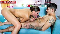 LETSDOEIT - #Tina Kay - British MILF Artist Takes Cock From Young Boy Adrian Dimas