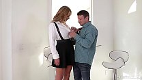 Busty lovers get to see Eva Notty's big firm ti...